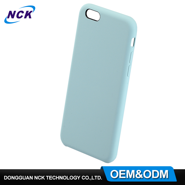 MOQ=100pcs free sample custom design your own silicone phone case for iphone 6 7