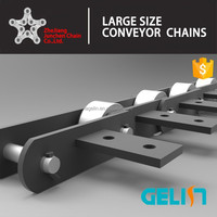 P76.2F30 conveyor chain for tobacco factory / tobacco machine chain / tobacco conveyor chain