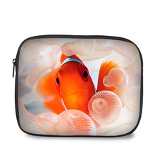 10 Inch high quality custom design tablet case fish print waterproof and shockproof neoprene laptop sleeve wholesale
