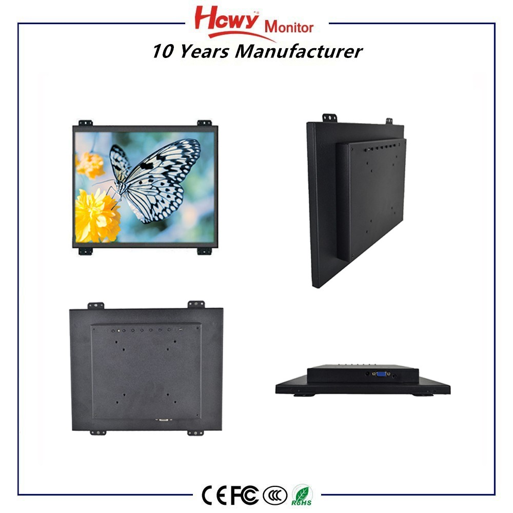 "DC 12V open frame touch screen monitor 7"" 8"" 10"" 12"" 15"" general touch open frame touch screen monitor"