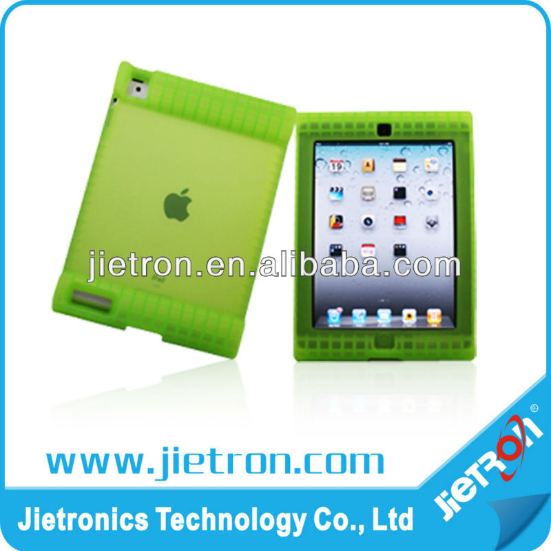 Anti Drop Shockproof Silicon Case for iPad2/iPad3(JT-2902334)