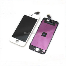 Factory supplier grade AAA quality display screen assembly digitizer lcd for iphone 5g touch screen