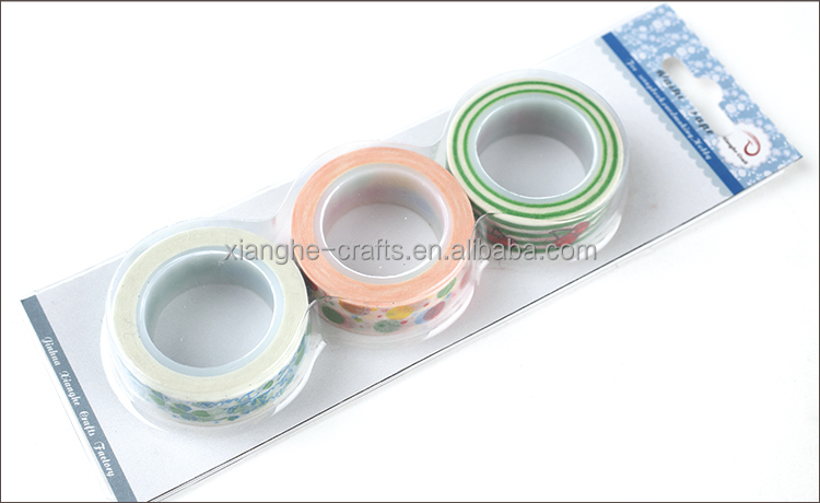 adhesive washi tape for craft cardmaking and scrapbooking