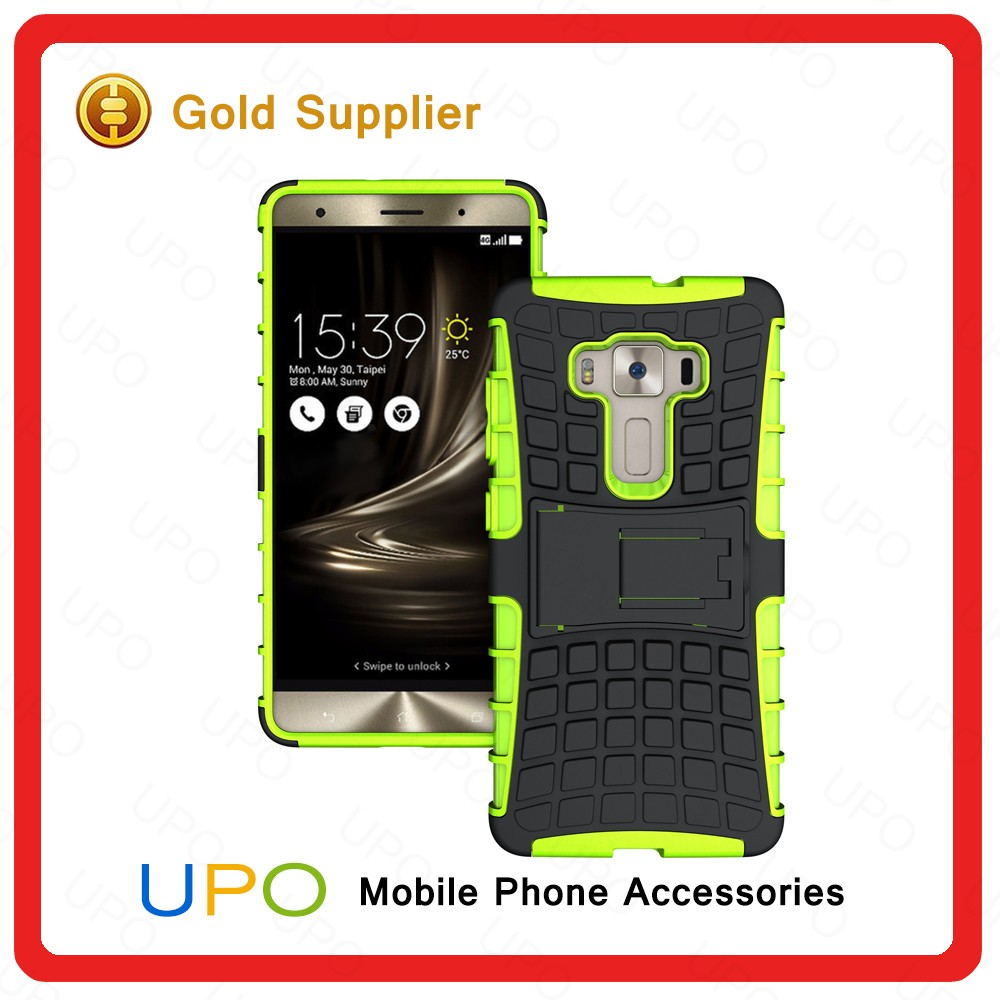 [UPO] Phone Accessories 2016 Shockproof Durable Kickstand Phone Case Cover for ASUS Zenfone 3 Deluxe