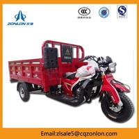 ZONLON 3 Wheel Motor Cargo Tricycle For Heavy Loading And Shipping
