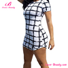 New design white summer gird elegant bodycon casual dress