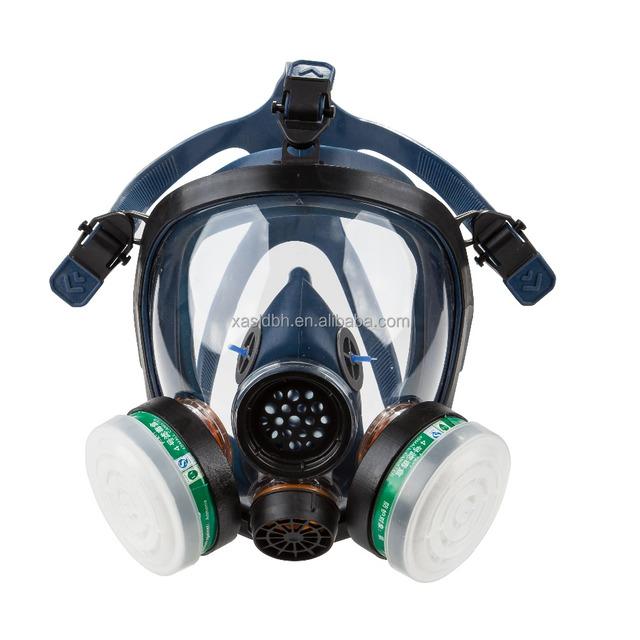 face mask anti acid gas mask air breathing apparatus gas mask