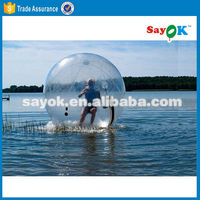 giant bubble clear inflatable water walking ball for pool game