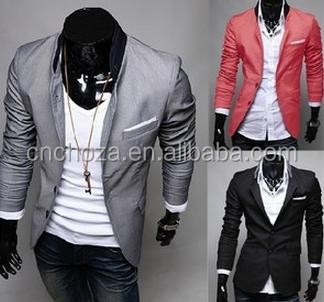 Z50406B FASHION MEN'S SUITS, MAN OFFICE UNIFORM DESIGN BLAZER, ITALIAN STYLE TUXEDO SUITS