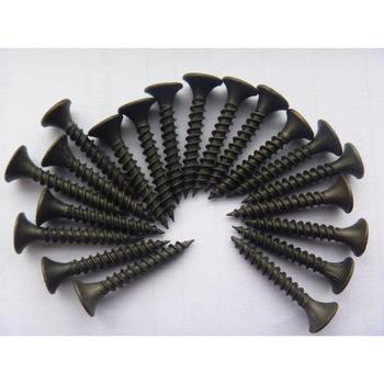 Good quality cheap price and material black phosphate drywall screw gypsum board