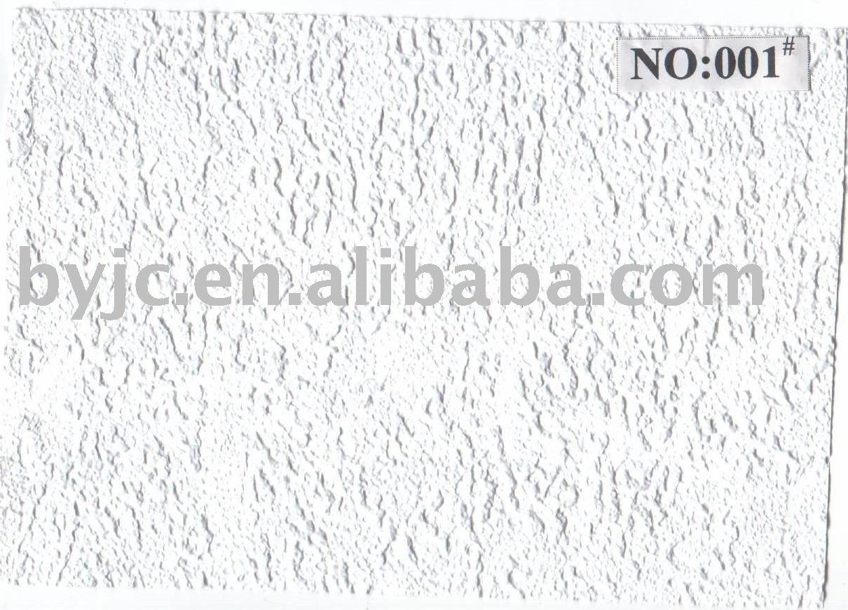Textura de vinil placa do teto gesso placas para o