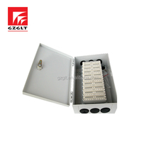 Cold-rolled steel material box can install LSA module 100 pair outdoor distribution box