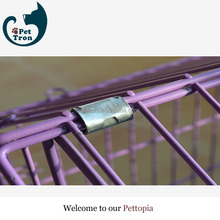 The newest latest product export pvc coated dog cage