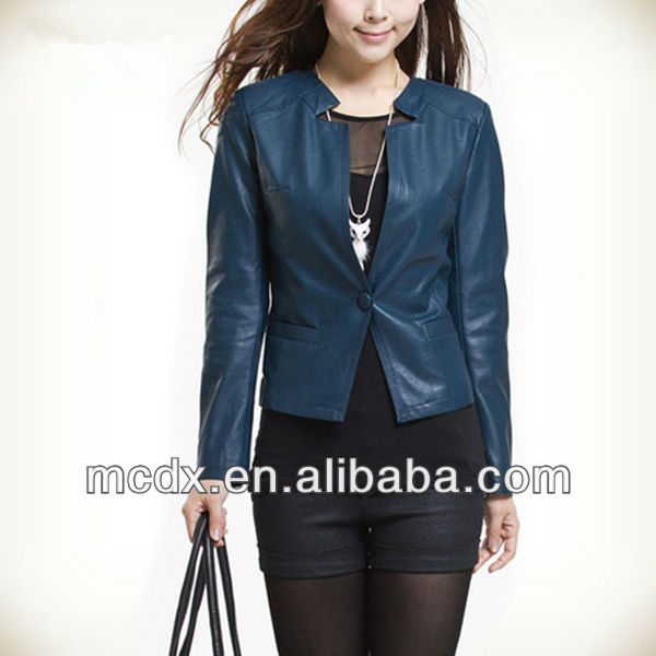 Synthetic Urban Ladys Leather Jackets