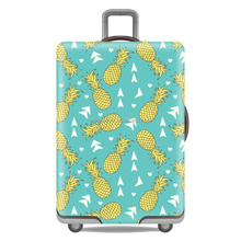 RW-LC-047-052 2017 New Design Fashion Custom Waterproof High Elasticity Stretchable Spandex Luggage Protector Suitcase Cover