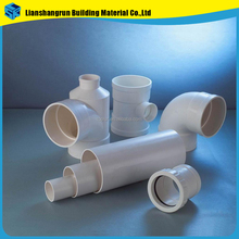 pvc factory wholesale bathroom fitting names pvc pipe