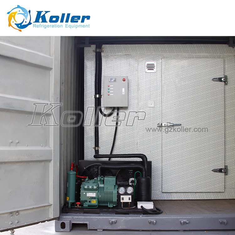 Cold Room with Container for Seafood, Meat or Vegetable Storage(JVCR50)