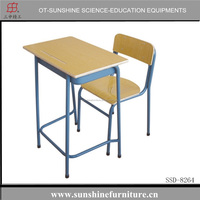 school desk and chair , single desk and chair , middle school desk and chair,