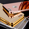 Wholesale Hot Selling Luxury Cover For iPhone 7 Mirror Air Aluminum Bumper case