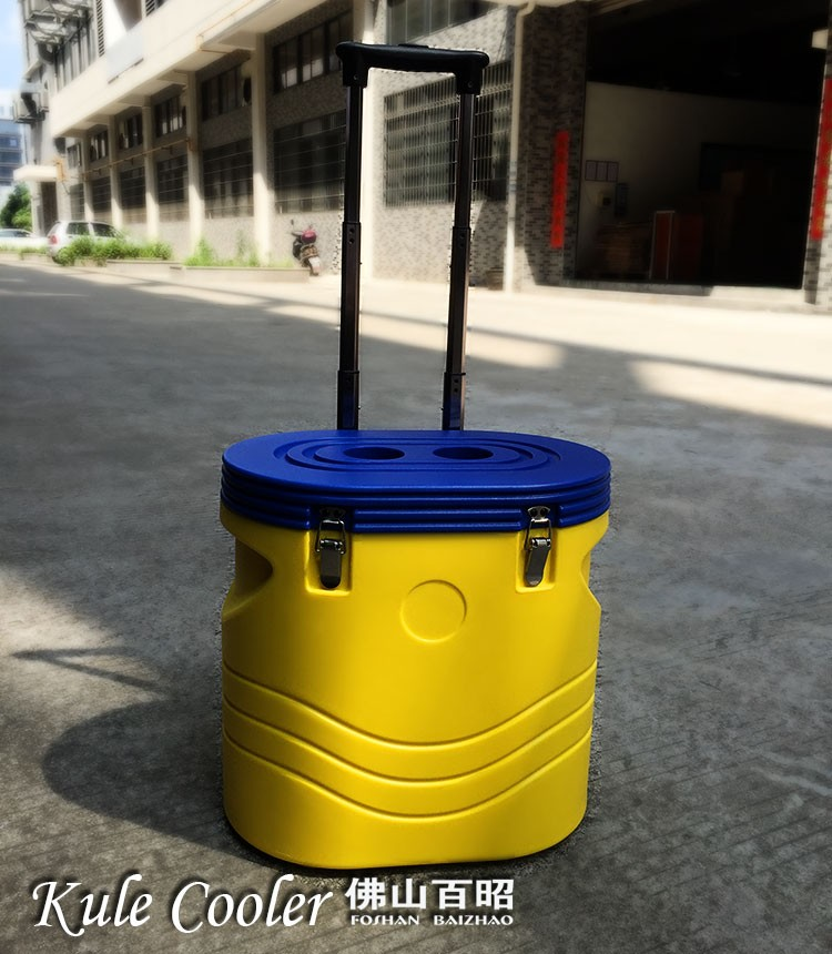 24L bluetooth speaker Fishing entertainment plastic insulated fishing mini cooler box