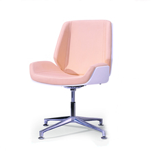 Modern Creative Leisure Chair PU Leather Swivel Function Gas Lift Height Adjust Chair