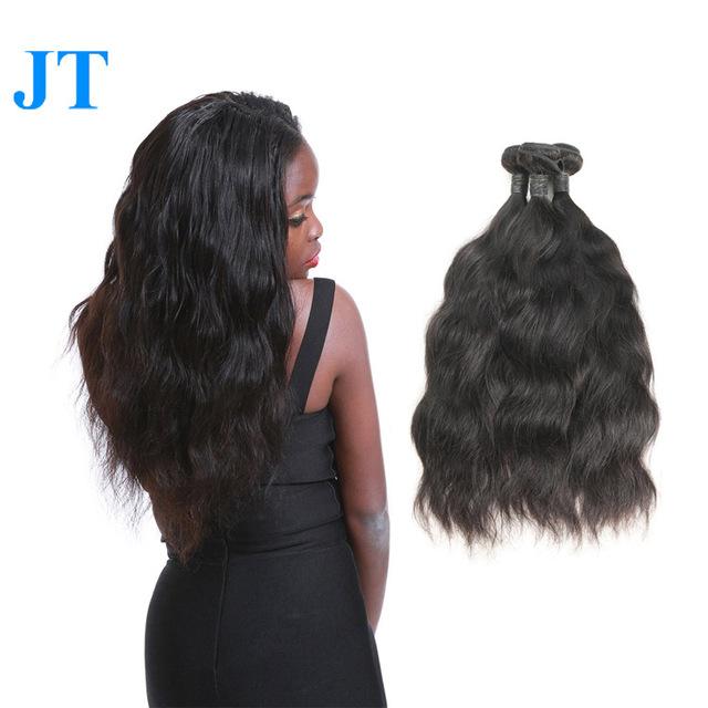 100% malaysian hair 27 piece real human hair weave
