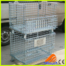 CE certificate china lockable container,pigeons cages,steel storage containers