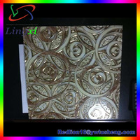 LXDW023 300*300mm Fashion Style Parten 2014 New Decorative Lay-in aluminum tin ceiling