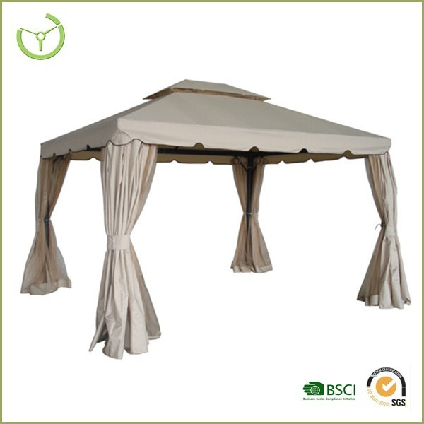 2016 New style outdoor garden metal gazebo /pergola 3x3