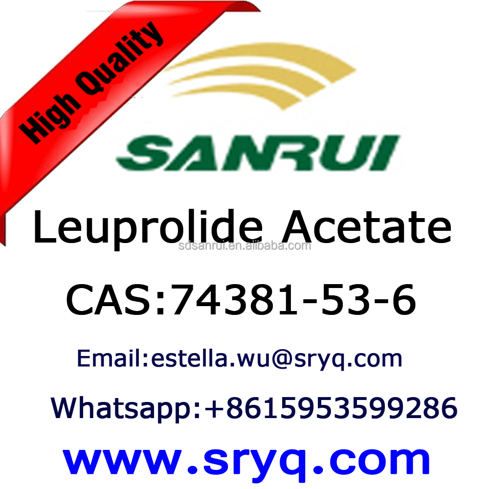API-Leuprolide Acetate, High purity cas 74381-53-6 Leuprolide Acetate