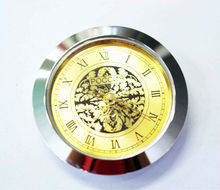 home decorative mini clock insert