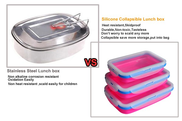 school collapsible children lunch box