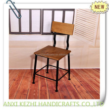 KZ140140 antique metal dining room chair