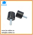 cylindrical rubber material vibration damper for machine/rubber buffer
