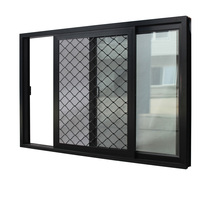 China Manufacturer Supply Thermal Break Sliding Aluminum Window with Double Glazing