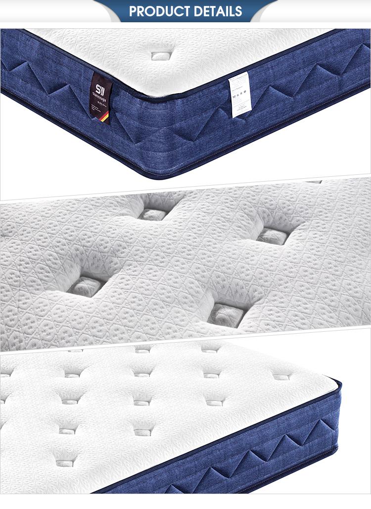 High density convoluted king euro foam mattress memory foam spring master - Jozy Mattress | Jozy.net
