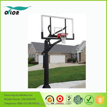 "Good price best quality outdoor adjustable in ground basketball stand with 72"" backboard"