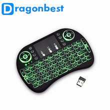 Mini I8 2.4Ghz Wireless Keyboard With Touchpad For Pc Pad Google Andriod Tv Box Xbox360 Ps3 Htpc/Iptv