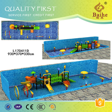 Baihe safety water park aqua plastic slide