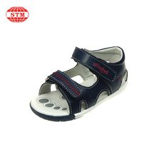 2017 new design manufacturer children orthotic rubber cute baby boy athletic sandals