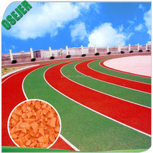 Colorful EPDM rubber granules for multi-purpose ground surface & running track & kindergarten