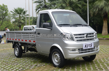 China Dongfeng brand 1.3L gasoline left and right hand drive single cabin mini truck for small cargo