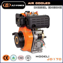 four stroke 6HP small diesel engine