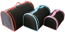 Foldable pet carriers