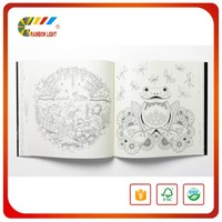 Environmental stylish professional full color cover high quality kids coloring books