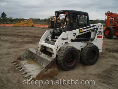 used bobcat S150 skid steer , backhoe loader BOBCAT S150 original from Japan for sale