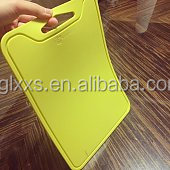 Hot selling high quality cutting board for kitchen silicone cutting board chopping block