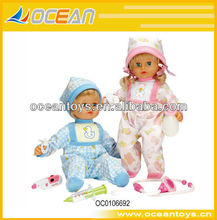 2014 hot selling fever female figures fashion doll (fever cold function) OC0106692
