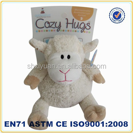 microwave stuffed toy/lavender toy sheep lamb/kids plush promotional gifts