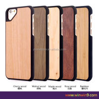 2016 Hot sales Beautiful different phone case manufacturing wholesale cell phone case wood+pc phone case for iphone